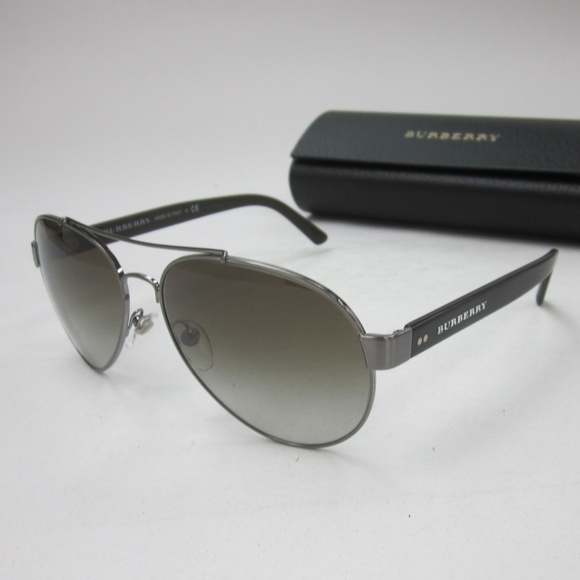 f8b4a6aa364 Burberry Accessories - Burberry B 3086 Aviator Sunglasses  Italy OLG537